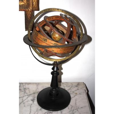 Armillary Sphere Signed Forest Paris