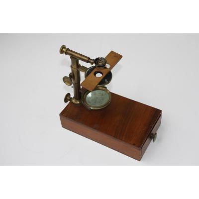 MICROSCOPE  TYPE ELLIS / RASPAIL c 1835