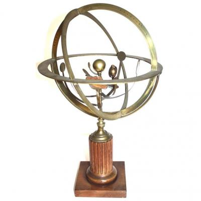 Copernican Planetary A Hand Mechanism Spanish Model C 1860