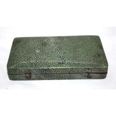 18th Century Shagreen Dental Box. Dentistry