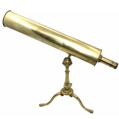 Télescope A Reflexion Signé Navarre A Paris C 1750