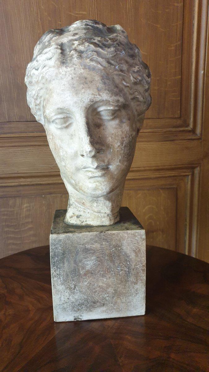 Head Of The Goddess Hygieia