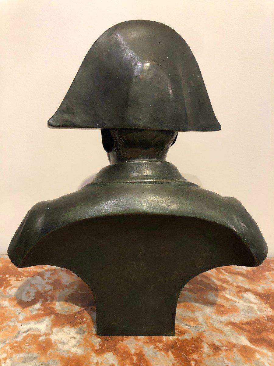 Buste De Napoléon En Bronze Fonte Barbedienne-photo-1