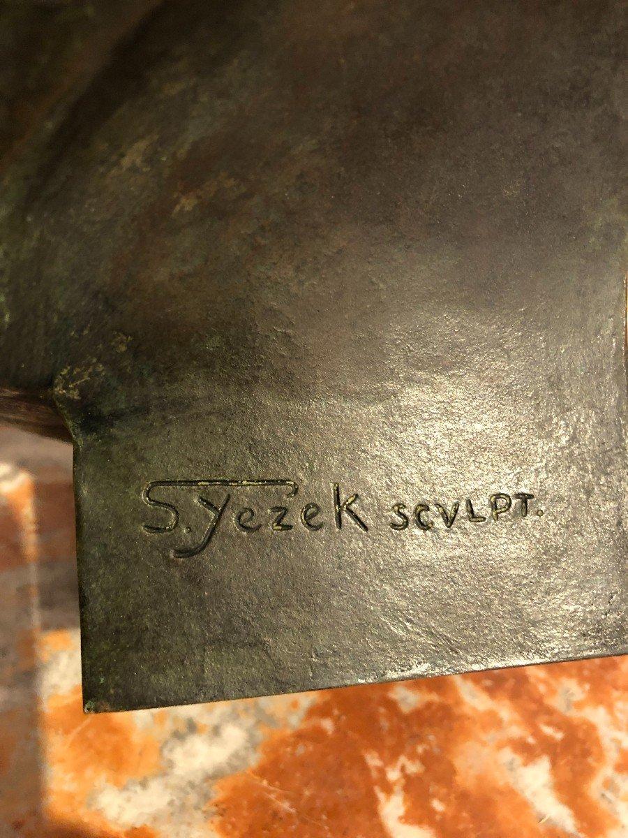 Buste De Napoléon En Bronze Fonte Barbedienne-photo-5