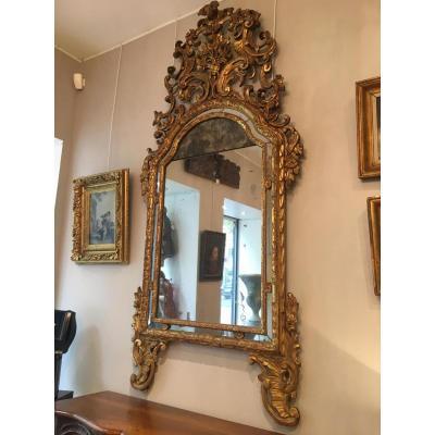 Miroir italien (Piémont) Epoque Louis XIV