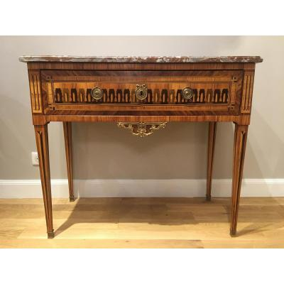 Table console Epoque Louis XVI