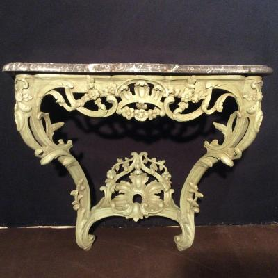 Console Style Louis XV Rocaille