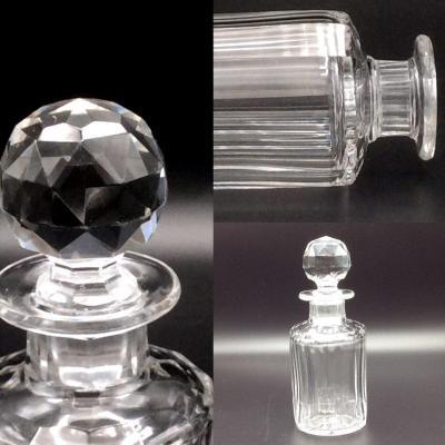 Flacon En Cristal De Baccarat