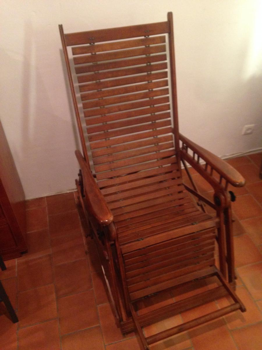 Transat Ou Chaise De Repos Marine