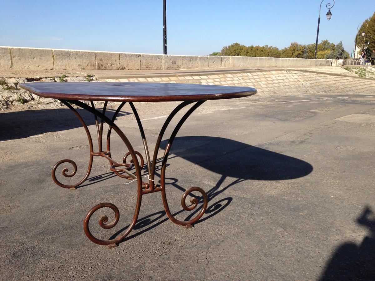 Table En Fer - Annees 30