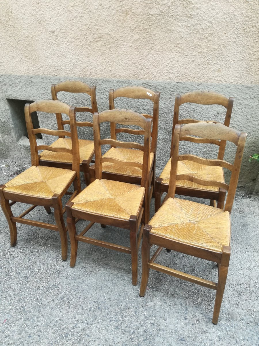 Lot De 6 Chaises Restauration