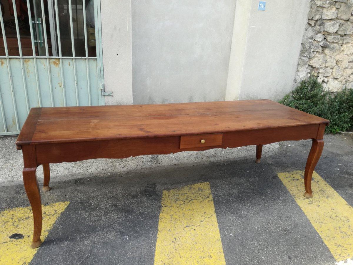 Grande Table En Merisier