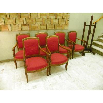 Chaise ancienne tabouret ancien sur proantic louis for Chaise 19eme siecle