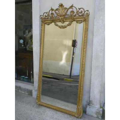 Miroir Dore Napoleon III