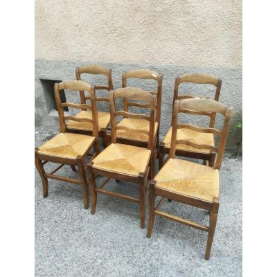 Lot De 6 Chaises Restauration