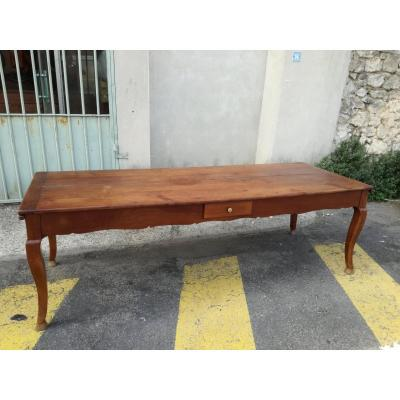 Large Table In Cherry