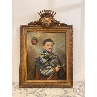 Portrait Of General Of The Empire Simonneau 1775-1861
