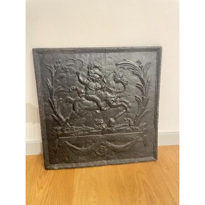 Cast Iron Chimney Plate
