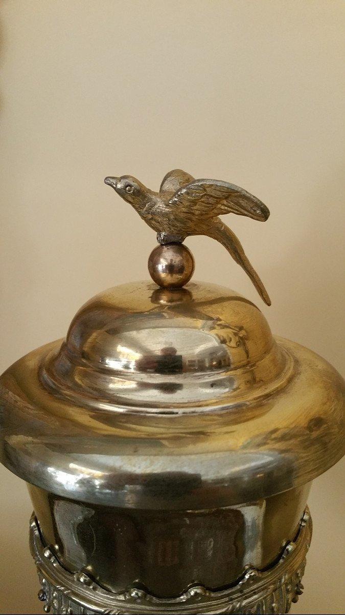 Corne d'Abondance  ou Hanap monté bronze-photo-3