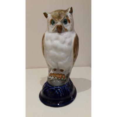 Night Owl: Tharaud: Porcelain Grand Feu Limoges.