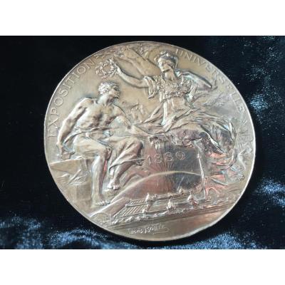 Médaille Double Face Exposition Universelle De Paris 1889