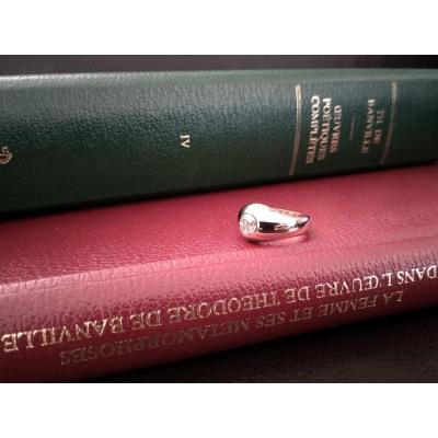 Bague En Or, Diamant Taille Ancienne