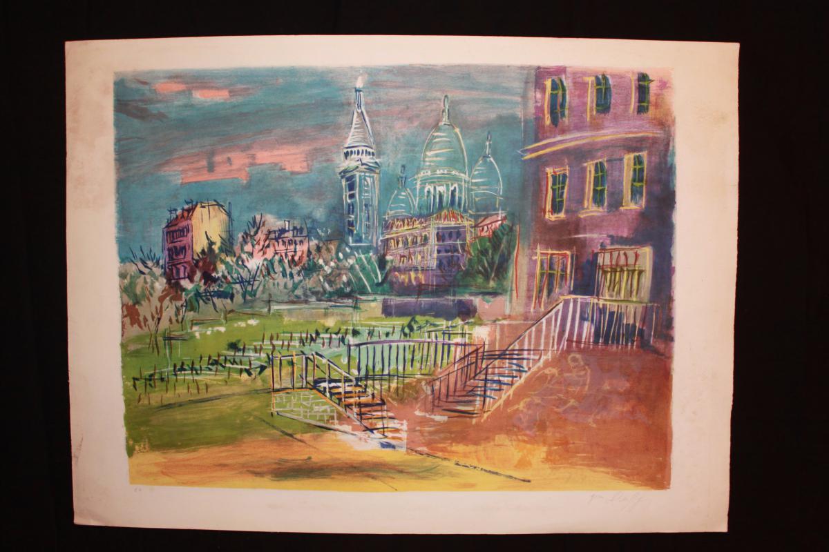 Jean Dufy - Epeuve d'Artiste - Montmartre - Paris