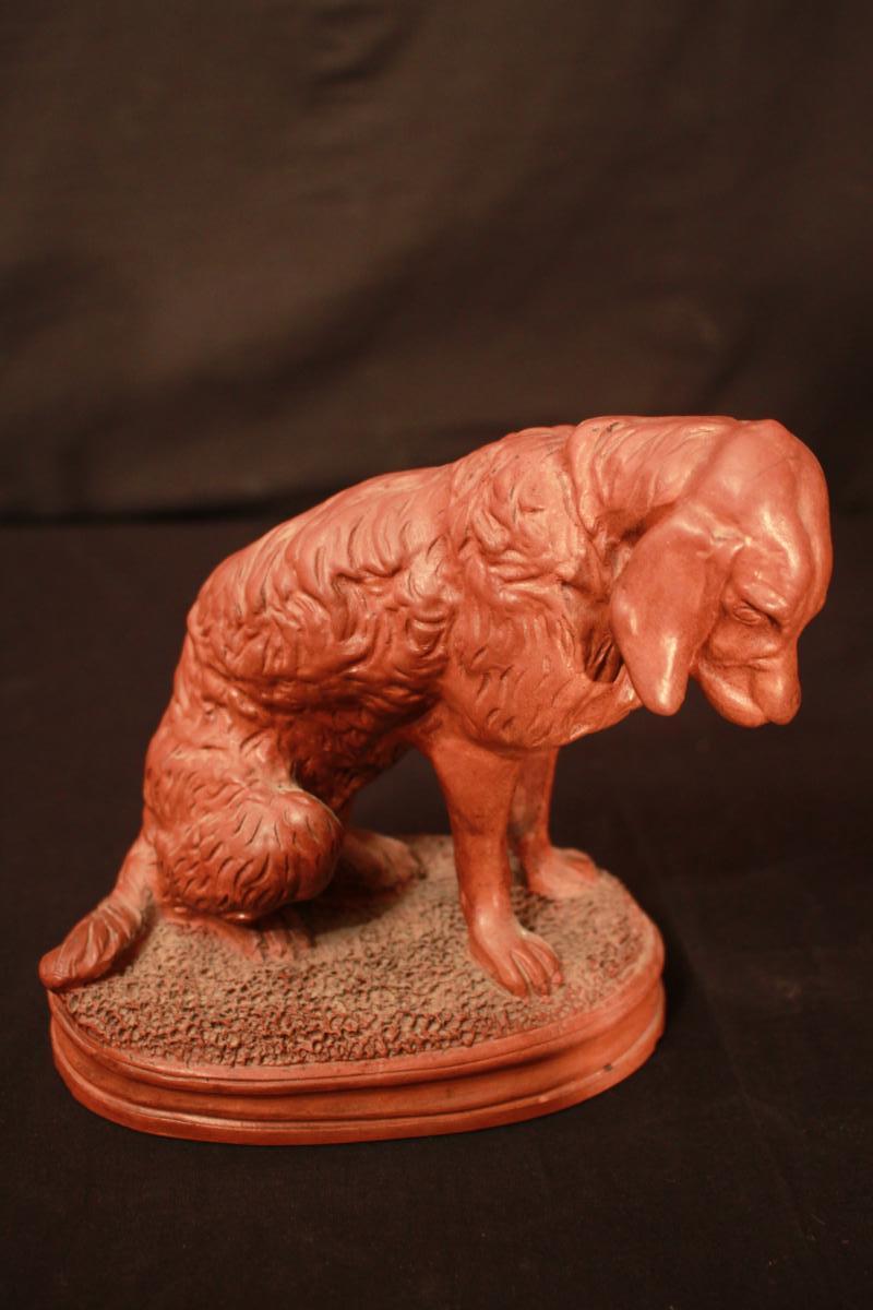 Clay Dog - Attr. Frémiet