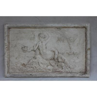Plaster Bas Relief