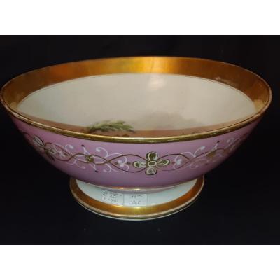 Bol- Porcelaine De Paris - 19ème