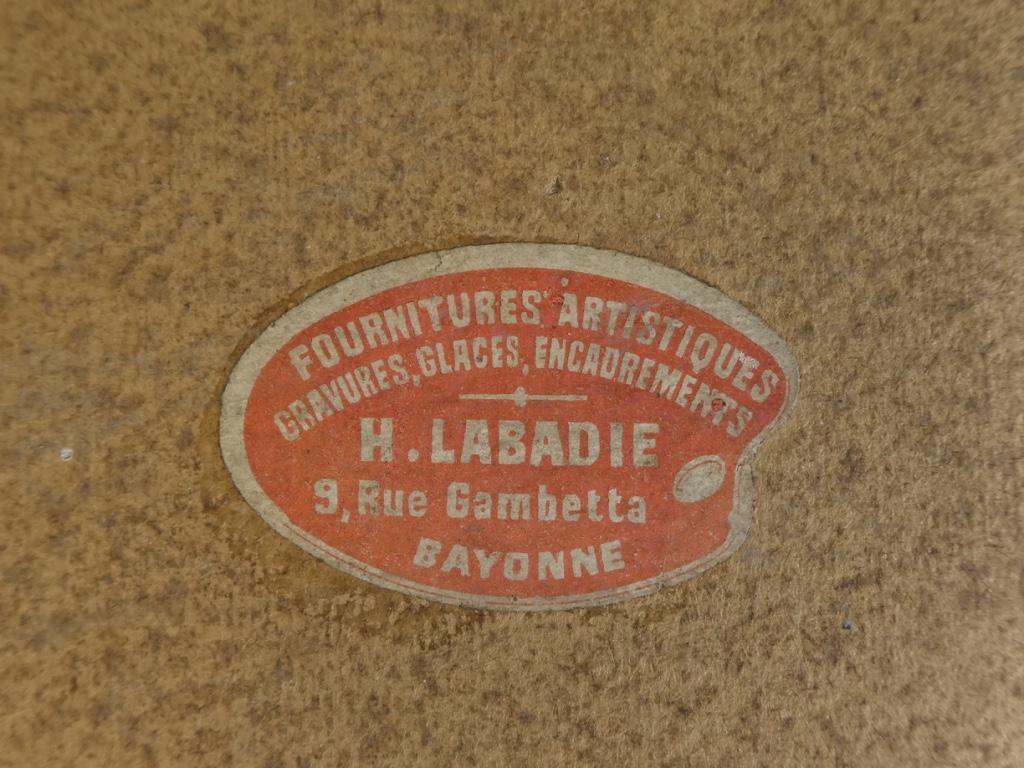 Georges Lepape 1887-1971 Eau Forte Aquatinte Couleur ''la Promenade'' 1906-photo-4