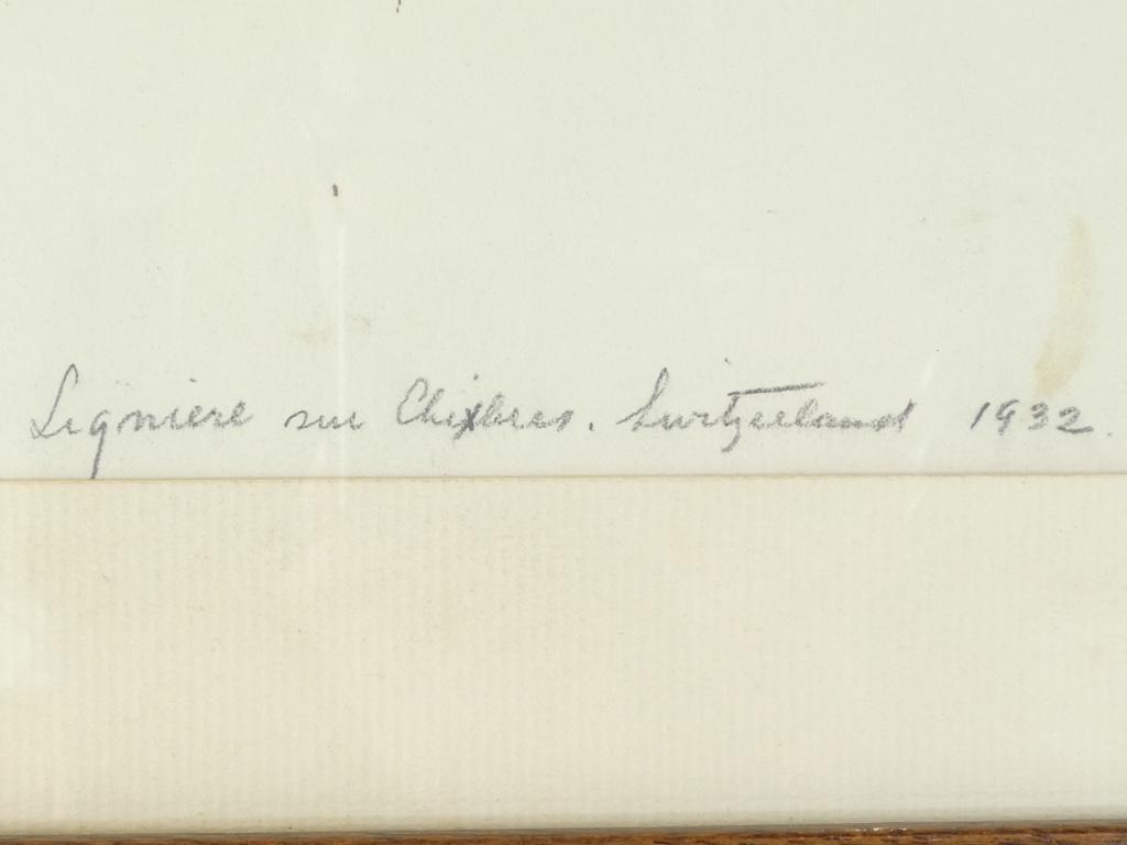 Gravure Originale Eau Forte 1932 - The Silent Christ '' De William Heintzelman-photo-4