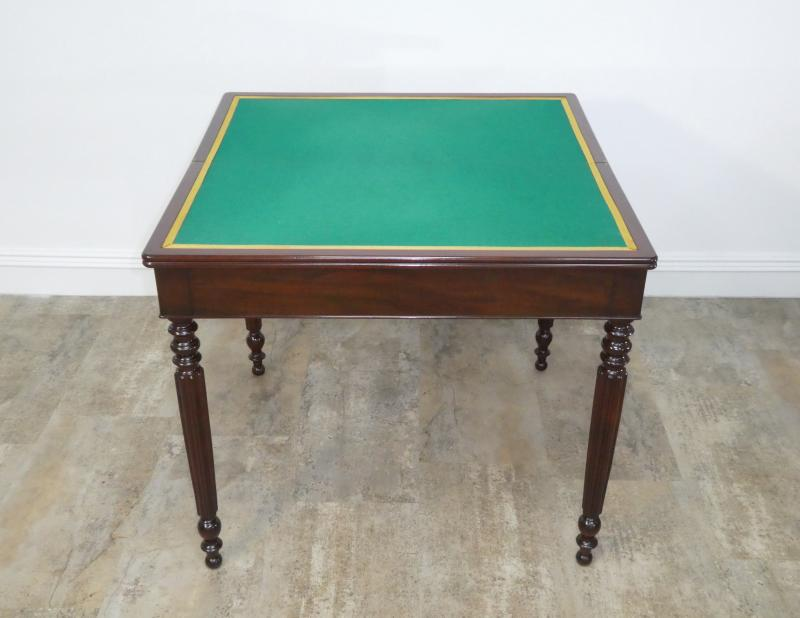 Louis Philippe Game Table In Mahogany 19th-photo-2