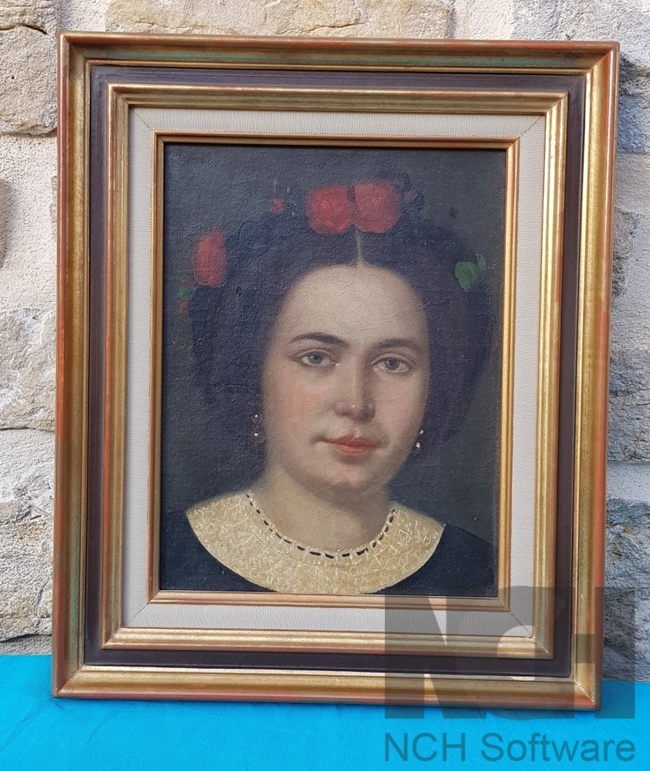 Painting, Portrait Woman