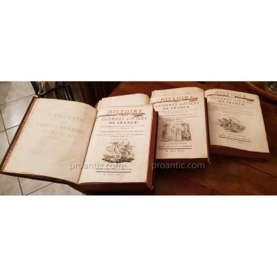 Ancient Books History Of Civil Wars Of France (davila)
