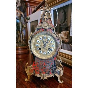 Pendule Cartel Napoléon III Boule