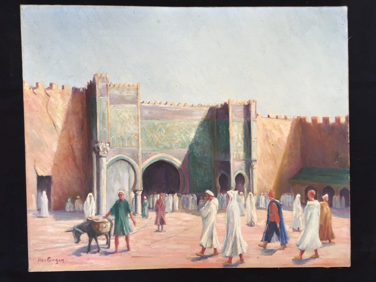 Tableau, Peinture Orientaliste début XX ème - Tableaux ...