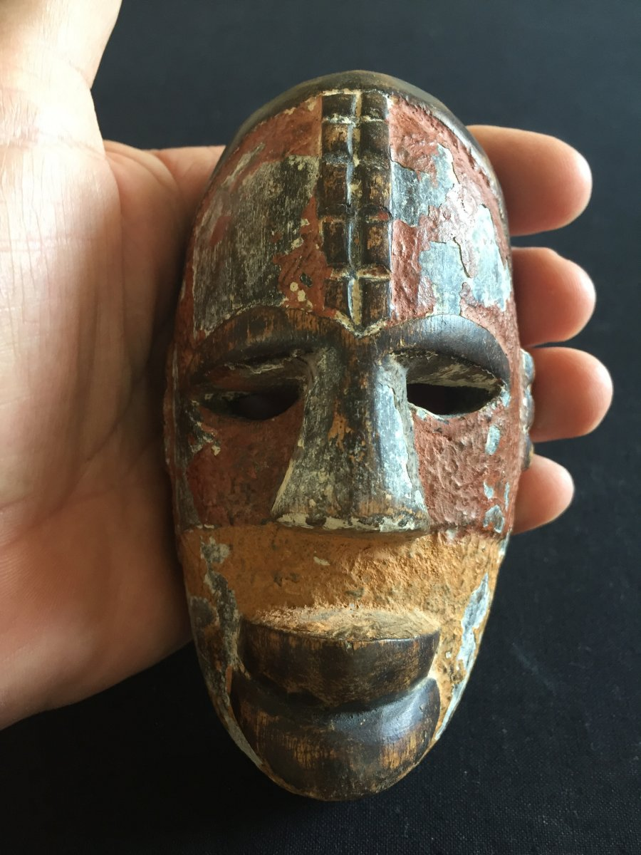 Very Small African Mask From Nigeria