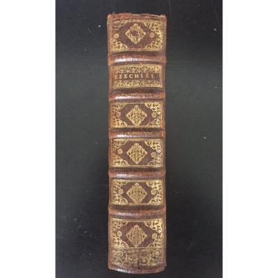 """Livre """"EZECHIEL"""" éditeur Guillaume DESPREZ, 1711"""