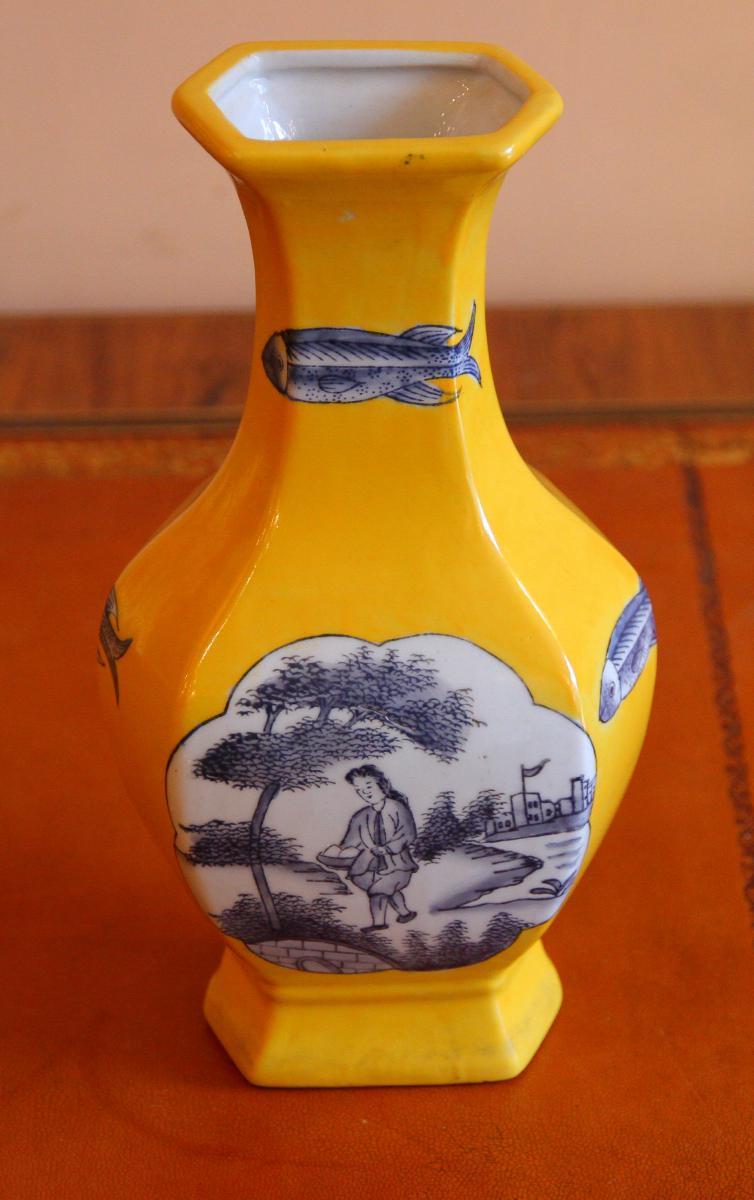Vase Chinois d'époque fin XIXème Siècle