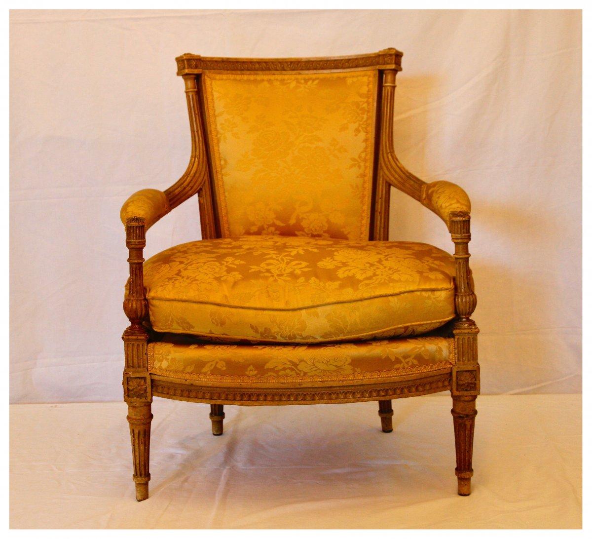 Fauteuil Pour Enfant D'époque Louis XVI, XVIIIe Siècle