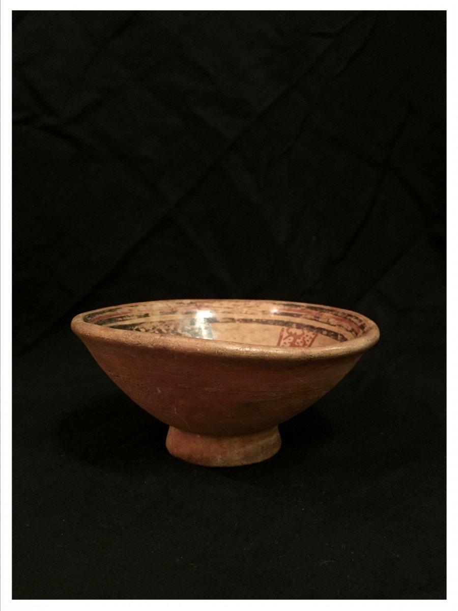 Pre-columbian Bowl, Culture Tuncahuán? Circa 500 Bc And 800 Ad