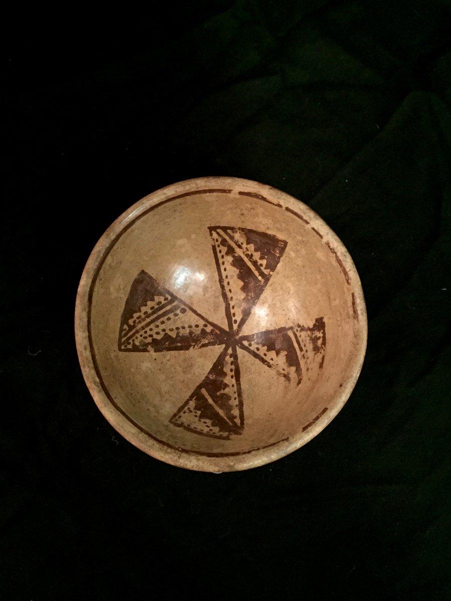 Pre-columbian Bowl, Culture Tuncahuán? Circa 500 Bc And 800 Ad-photo-2