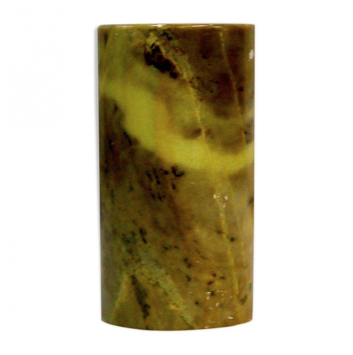 Vase Ou Pot à Crayons En Pierre Dure, XXe Siècle