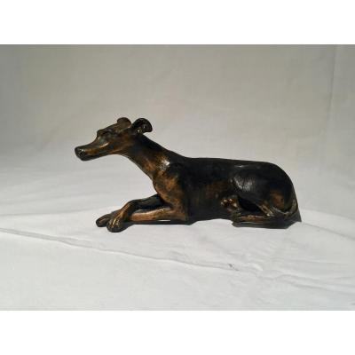 Bronze Figuring A Dog, 20th Century