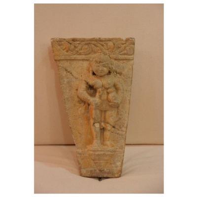 Haut-relief En Grès, Inde, XIe Siècle
