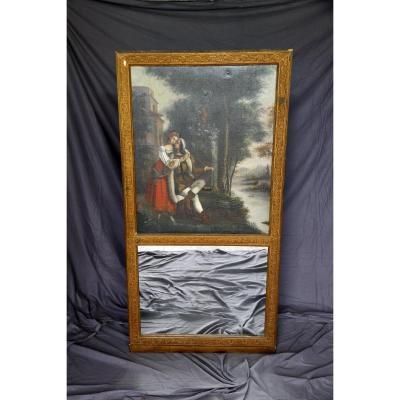 Trumeau Peint, XIXe Siècle