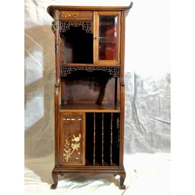Small Buffet In The Style Of Viardot, Late 19th / Early 20th Century