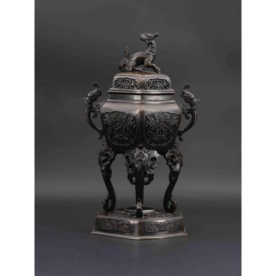 Incense Burner. Japan, 19th Century