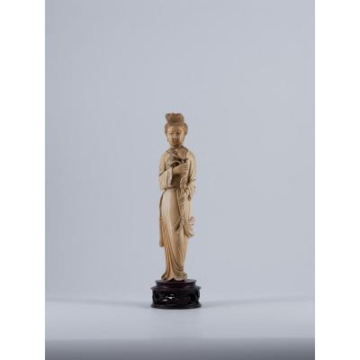 Ivory Okimono, 19th Century